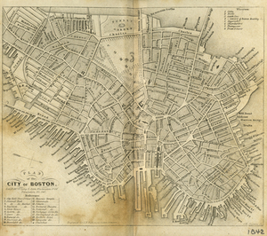 Plan of the City of Boston