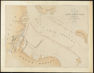 Plan For the Occupation of the South Boston Flats by the Commissioners on the Harbors and Flats of Massachusetts