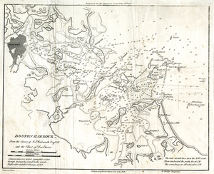 Boston Harbour: From the Survey of A.S. Wadsworth Esq., U.S.N, and the Survey of Des Barres.