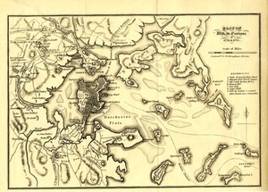 Boston With its Environs, 1775 & 1776.