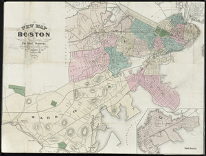 New Map of Boston Compiled from the Latest Surveys