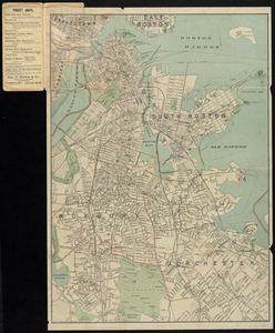 Latest map of Boston City, Massachusetts