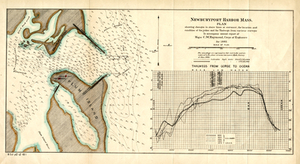 Newburyport Harbor, Mass.: Plan Showing Changes in Shore Lines at Entrance, the Location and Condition of the Jetties, and the Thalwegs From Various Surveys