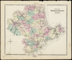 Map of Essex County Mass.
