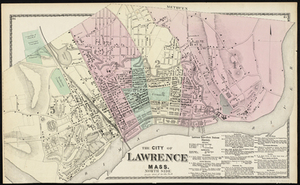 The City of Lawrence, Mass. North Side