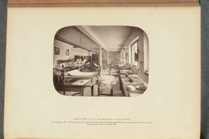 Albert-type, a new photo-mechanical printing process : this example of Herr Albert's new process, showing the interior of his printing establishment, is presented to the readers of the Photographic News, June 24, 1870