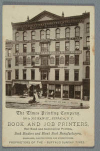 [Advertising card for the Times Printing Company]
