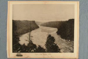 Gorge of the Niagara River : on the New York Central & Hudson River railroad