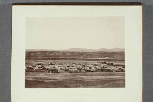 [Heliotype illustrations from photographs of Pueblos in Houses and house-life of the American Aborigines]
