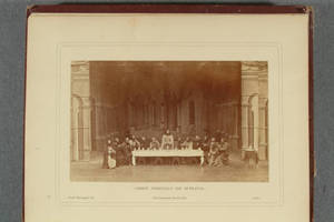 [Albumen photographs in Album of the passion-play at Ober-Ammergau]