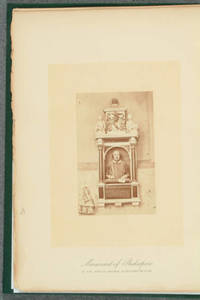 [Albumen print photographs in Shakespere, his birthplace, home, and grave]