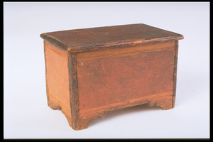 Miniature Blanket Chest Box