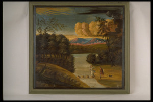 Painting, Tobias and the Angel