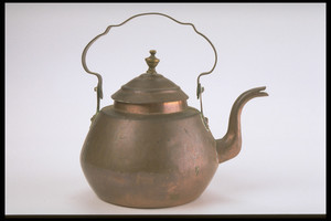 Copper Teakettle with Brass Knop