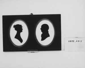 Silhouettes of Mr. and Mrs. Jonathan Sayward Barrell