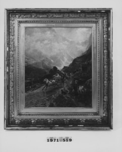 Landscape with Mountain Pass