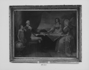 "Engraving, ""The Washington Family"""