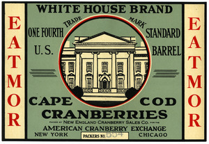 Cape Cod Cranberries : White House Brand