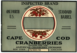 Cape Cod Cranberries : Inspected Brand
