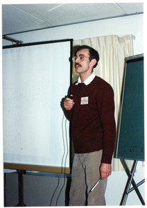 Low-input Sustainable Agriculture (LISA) seminar: Ralph De Gregorio (New Alchemy Institute) speaking at the seminar
