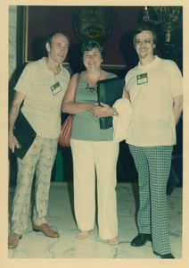 Sidney Lipshires, Kay Bergin, and Bob Vater (l. to r.)