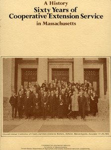 University of Massachusetts Amherst. Cooperative Extension Service Records