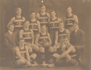 1911 Springfield College Basketball Team