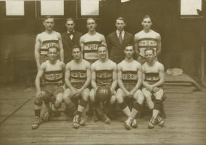 1916-17 Springfield College Basketbal Team