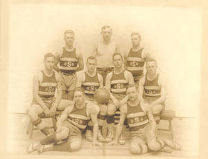 1916-17 Springfield College Second Basketball Team