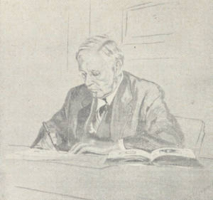 Drawing of McCurdy by Karpovich
