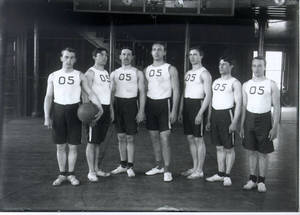 1905 Basketball Team at Springfield College