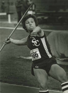 Women's Track and Field- Karolyn Walsh c. 1984