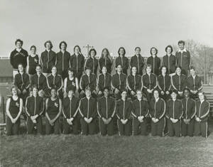 First Women's Track and Field Team (1977)