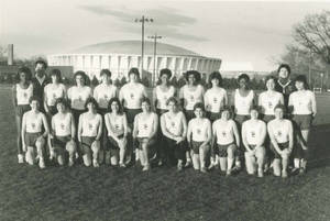 Women's Track and Field Team (1986)