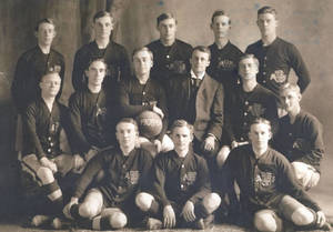 1908 Springfield College Men's Soccer Team