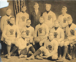 1907 Springfield College Men's Soccer Team