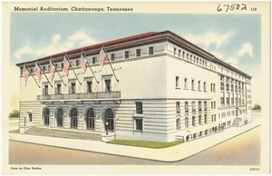 Memorial Auditorium, Chattanooga, Tennessee