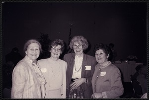 Newton Free Library, Newton, MA. Communications & Programs Office. Audrey Cooper, Sandra Butzel, Nancy Criscitiello, Virginia Tashjian