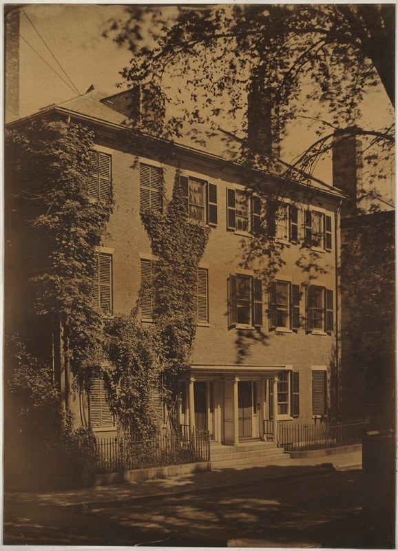 House of Nathaniel Ingersoll. Bowditch - Otis Place, off Summer Street