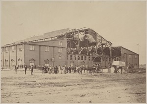 The Coliseum, after the gale of Sept. 8, 1869