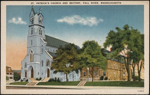 St. Patrick's Church and Rectory, Fall River, Massachusetts
