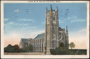 Union M.E. Church, Fall River, Mass.