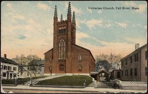 Unitarian Church, Fall River, Mass.