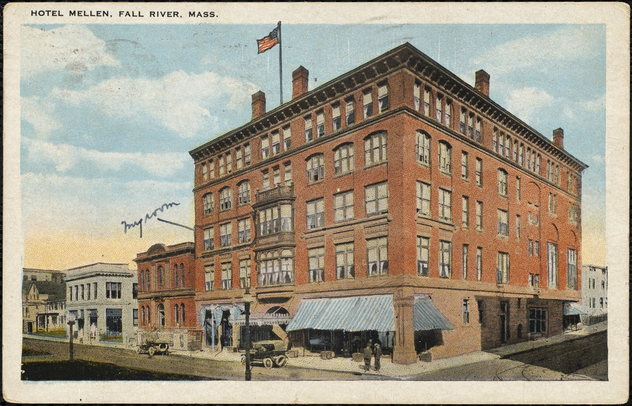 Hotel Mellen, Fall River, Mass. - Digital Commonwealth