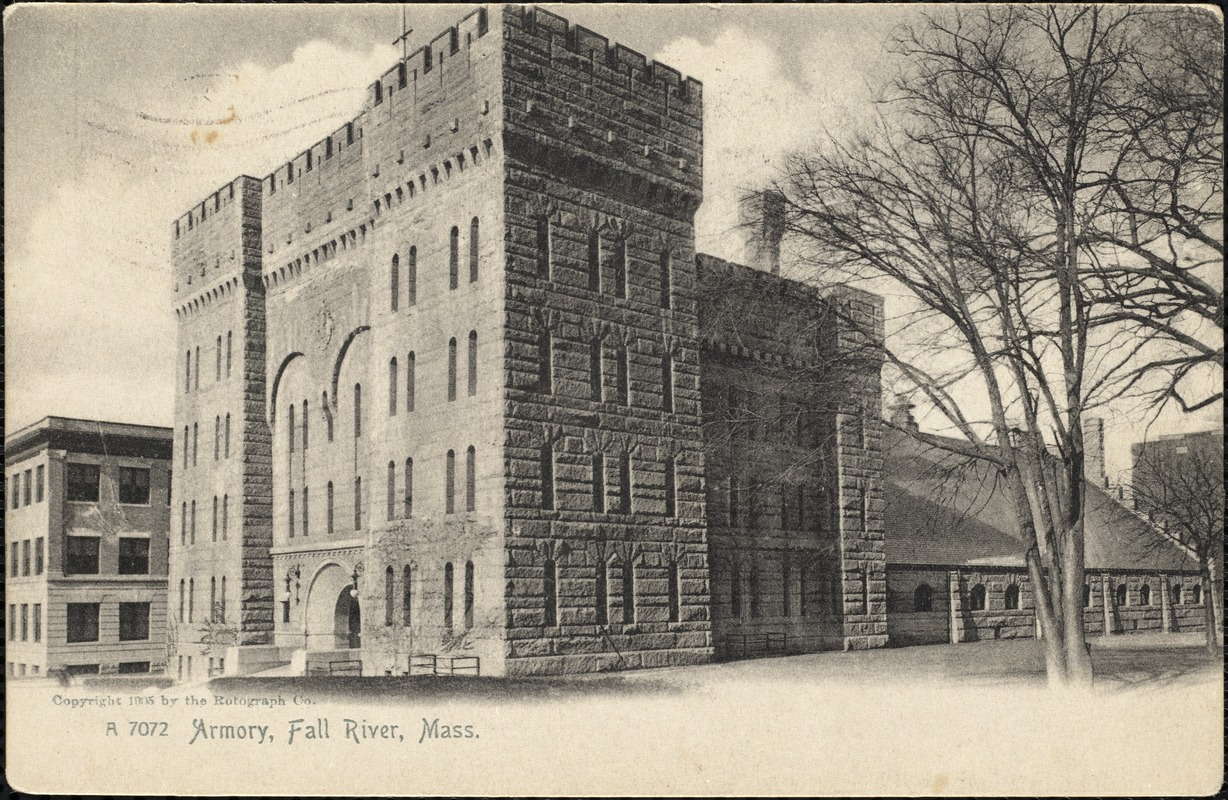 Armory, Fall River, Mass.