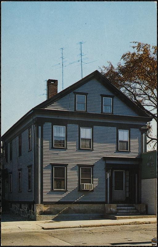 On that summer morning in August of 1892, Lizzie Borden took the axe to her mother and father in this, their home in Fall River, Massachusetts