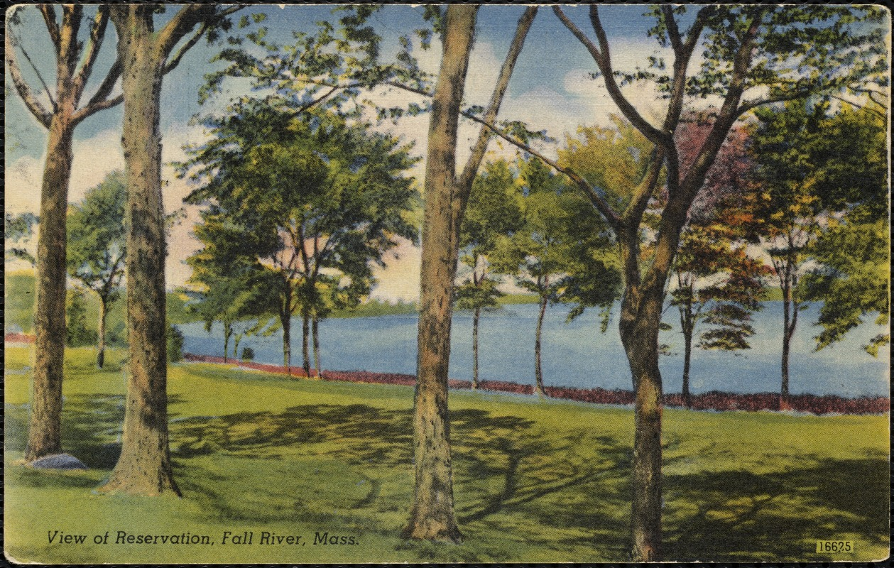 View of reservation, Fall River, Mass.