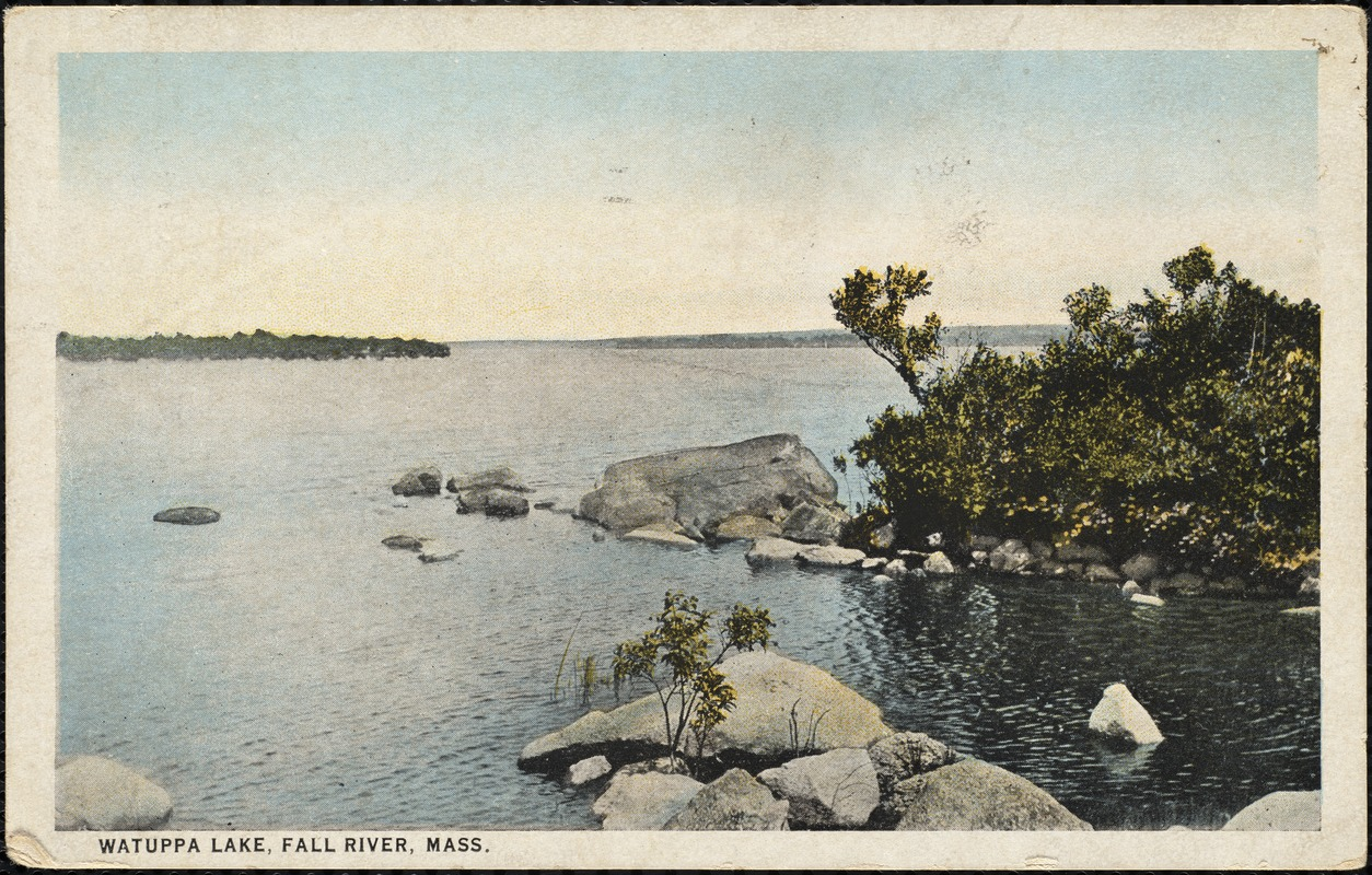 Watuppa Lake, Fall River, Mass.