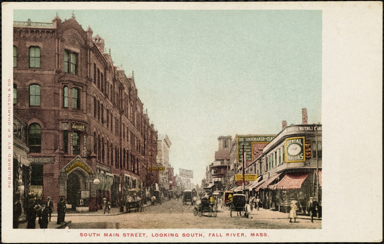 South Main Street, looking south, Fall River, Mass.