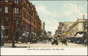 South Main St., looking south. Fall River, Mass.